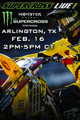 REPLAY - Arlington - Feb. 16, 2013 - Supercross LIVE!