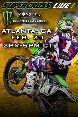 REPLAY - Atlanta 2/23/13 - Supercross LIVE!