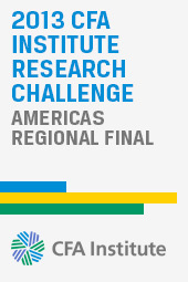 CFA Institute Research Challenge - Americas Regional