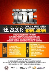 Edu-tainment 101: Youth Violence Prevention Town Hall
