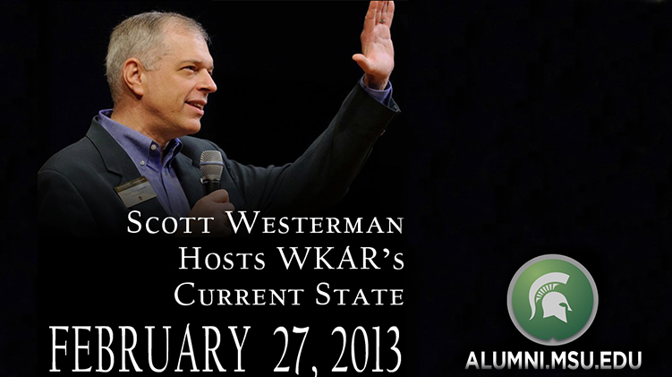 livestream cover image for Scott Westerman on WKAR's Current State