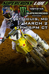 St. Louis 3/2/13 - Supercross LIVE!
