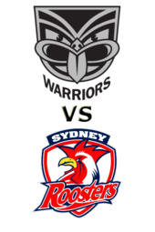 Warriors vs. Roosters