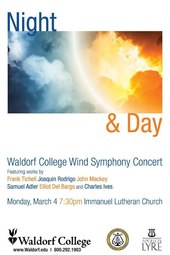 Night & Day : Waldorf College Wind Symphony Concert