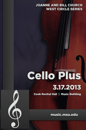 Cello Plus | Schubert & More  |  3.17.2013