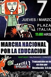 #yomarchoel07 Marcha por la Educación