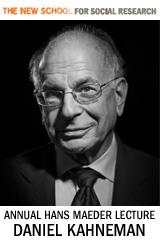 Hans Maeder Lecture with Daniel Kahneman