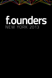 f.ounders New York 2013