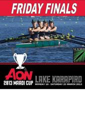 Rowing: Maadi Cup Friday Finals