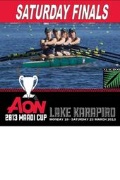 Rowing: Maadi Cup Saturday Finals