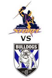 Storm vs. Bulldogs