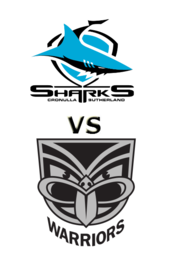 Sharks vs. Warriors