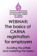 CARNA registration for employers
