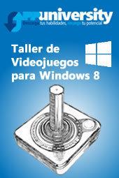 Taller de Videojuegos para Windows 8 - Sesión Informativa