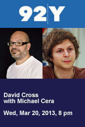 David Cross with Michael Cera