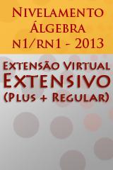 Extensivo - Nivelamento Álgebra n1/rn1