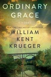 William Kent Krueger signs ORDINARY GRACE