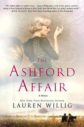 Lauren Willig signs THE ASHFORD AFFAIR