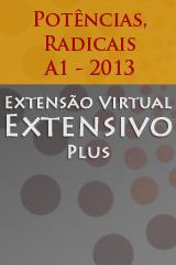 Extensivo Plus - Potências, Radicais, Racionalização - A1