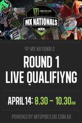Round 1 - MX Nationals