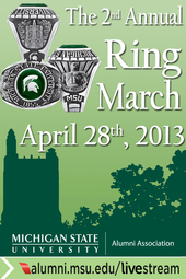 MSUAA 2nd Annual Ring March
