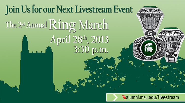 livestream cover image for MSUAA 2nd Annual Ring March