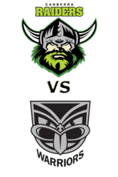Raiders vs Warriors