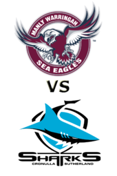 Sea Eagles vs. Sharks