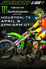 REPLAY - Houston 4/6/13 -Supercross LIVE!
