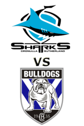 Sharks vs. Bulldogs