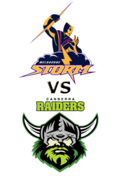 Storm vs. Raiders