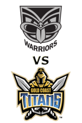Warriors vs. Titans
