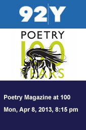 Poetry Magazine at 100: An Anniversary Reading