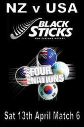 Four Nations Match 6 - NZ v USA
