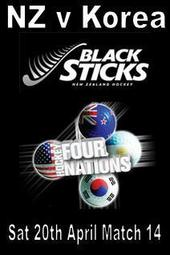 Four Nations Match 14 - NZ v Korea