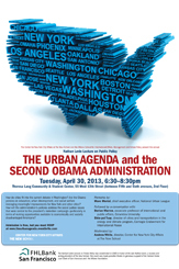 2013 Nathan Levin Lecture: The Urban Agenda