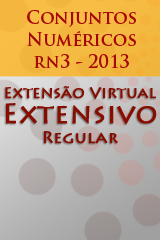 Extensivo Regular - Conjuntos Numéricos - rA3