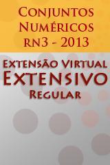 Extensivo Regular - Conjuntos Numéricos - rA3