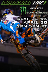 Seattle 4/20/13 - Supercross LIVE!