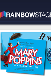 Rainbow Stage Mary Poppins star & director at the News Café