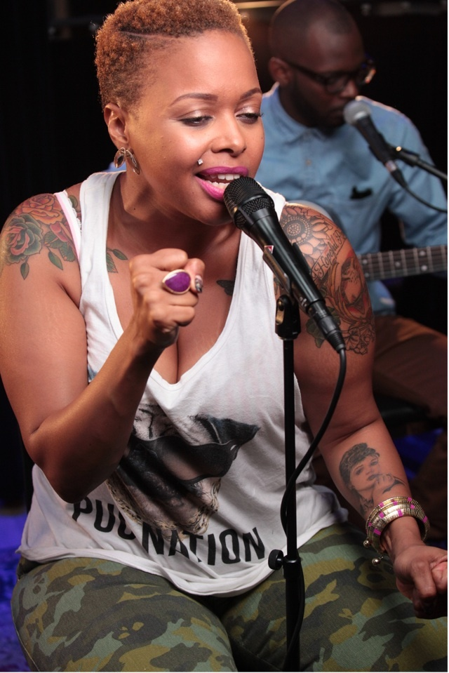 Chrisette Michele Tattoos Up Close Chrisette michele on