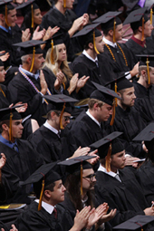 Commencement, May 10 at 10am CST