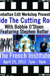 Inside the Cutting Room with Bobbie O'Steen - Stephen Rotter