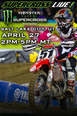 Supercross LIVE! from Salt Lake City - April 27, 2013