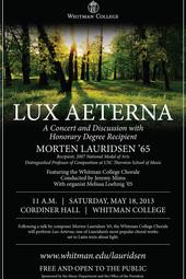 Lux Aeterna Concert