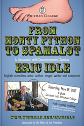 From Monty Python to Spamalot: A Discussion with Eric Idle