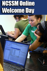 NCSSM Online Welcome Day