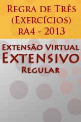 Extensivo Regular - Regra de Três (Exercícios) - rA4