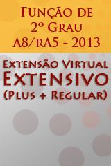 Extensivo - Função de 2º Grau - A8/rA5