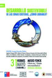 """Charla """"Desarrollo sustentable de las zonas costeras, ¿Cómo lograrlo?"""""""